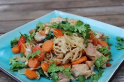 Asian Style Stir Fry w/ Simple Homemade Peanut Sauce