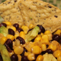 Mexican Caviar (black bean and corn dip)