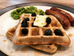 Low Carb Keto/Paleo Waffles